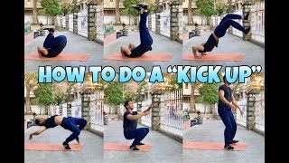 "How to do a ""KICK UP/KIP UP"" 
