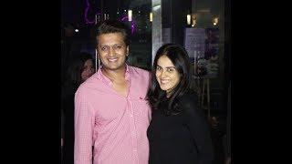 Riteish Deshmukh & Genelia D'Souza Deshmukh At Yauatcha Restaurant