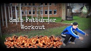 3 min des Todes - ultimatives Fatburner Workout | Bodyweight