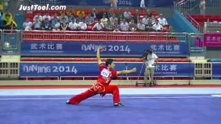 Nanjing 2014 Youth Wushu Tournament - Wushu (Taolu) - Men's Changquan (Longfist) - 1st Place