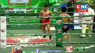 Chhut Serey Vanthorng vs Saenphet (Thai) CNC Khmer boxing 23/02/2019
