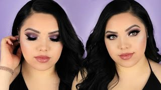 Get Ready With Me   Using Kylie Cosmetics Holiday Collection!