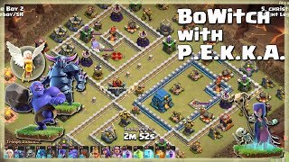 Best BoWitch with P.E.K.K.A. attacks | TH12 War Strategy #77 | COC 2018 |