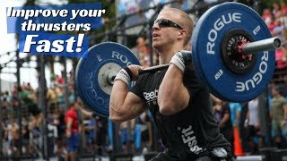 Technique Tips | Crossfit Thrusters | Crush your Fran time!