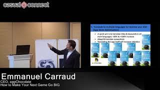 How to Make Your Next Game Go BIG | Emmanuel Carraud