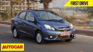 2016 Honda Amaze | 1.2 Petrol CVT & 1.5 Diesel | First Drive | Autocar India