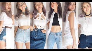 6ลุค เสื้อขาว+กางเกงยีนส์ให้ชิค | Archita Lifestyle