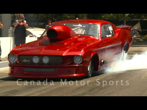NHRA Drag Racing Pro Mods & Doorslammers Mission BC June 27 09 part 1 of 4