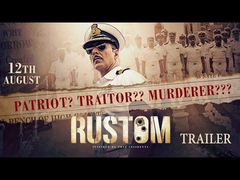 Rustom   Official Trailer   Akshay Kumar, Ileana D'Cruz, Esha Gupta & Arjan Bajwa  