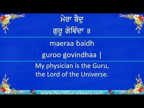 MERA BAID GURU GOVINDA | Read along with Bhai Harjinder Singh SriNagar Wale | Shabad Kirtan