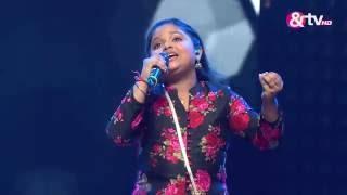 Riya Biswas - Mere Dil Mein Jagah Khuda Ki Khali Thi - Liveshows - Episode 21 - The Voice India Kids