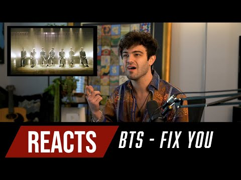 Producer Reacts to BTS Fix You Coldplay Cover
