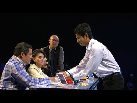 Dae Wor Magic Audition | Myanmar's Got Talent 2017 Season 4 ျမန္မာ