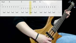Foo Fighters - Learn To Fly (Bass Cover) (Play Along Tabs In Video)