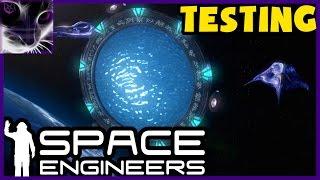 Space Engineers - STARGATE TESTING (Workshop Mods)