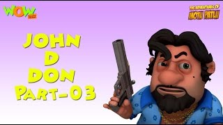 John D Don - Motu Patlu Compilation Part 3 - 30 Minutes of Fun! As seen on Nickelodeon