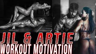 Jil & Artie Gym Motivation - TOGETHER WE ARE STRONGER