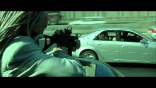 The Matrix Reloaded - Highway Fight Scene Part 1(HD)