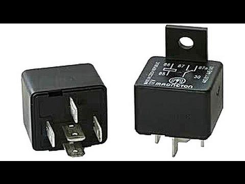 Como hacer una instalacion electrica con un relevador automotriz