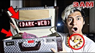 DO NOT OPEN DARK WEB MYSTERY BOX!! AT 3AM!! *OMG SO CREEPY*