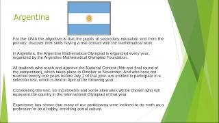 The good practices of Mathematic in countries in Latin América.