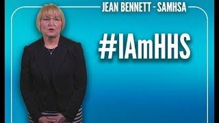 #IAmHHS: Jean Bennett (SAMHSA)