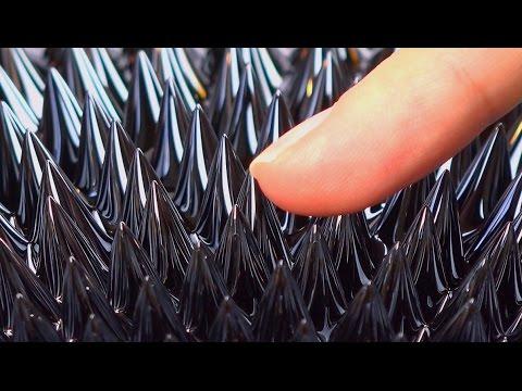 Monster magnet meets magnetic fluid