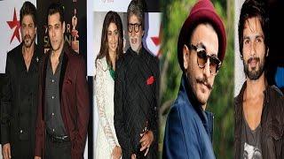 Salman & Shahrukh Make Amitabh Wait On Red Carpet | Shahid & Ranveer