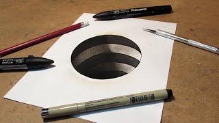 Basit 3D Delik Çizimi (kendin yap)