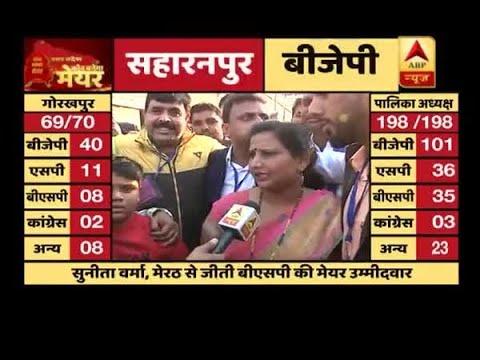 Xxx Mp4 Meerut Civic Polls Results BSP S Sunita Verma Wins The Mayor Seat 3gp Sex