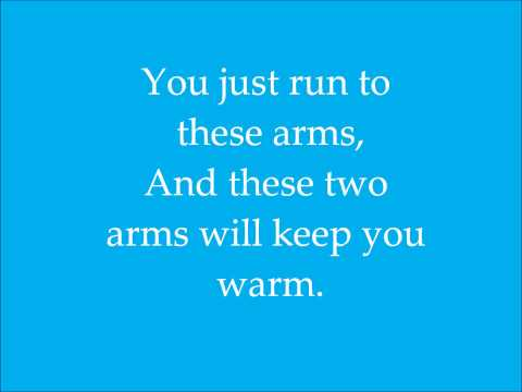 Xscape Run to the Arms of the One Who Loves You lyrics on screen