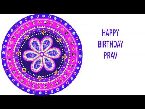 Prav   Indian Designs - Happy Birthday