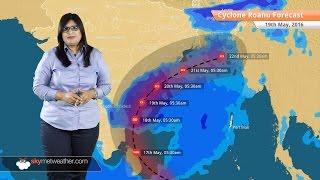 Cyclone Roanu Update May 19: Torrential rains in Andhra Pradesh and Odisha
