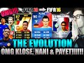 OMFG THE EVOLUTION FT KLOSE, NANI & PAYET! - FIFA 16: ULTIMATE TEAM (DEUTSCH) - HOLY SHIT!!