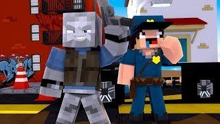 Der DÜMMSTE POLIZIST ÜBERHAUPT?! (Minecraft AUSBRUCH)