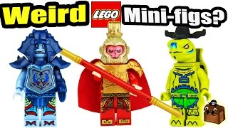 Weird Knockoff LEGO Custom Minifigures 2017