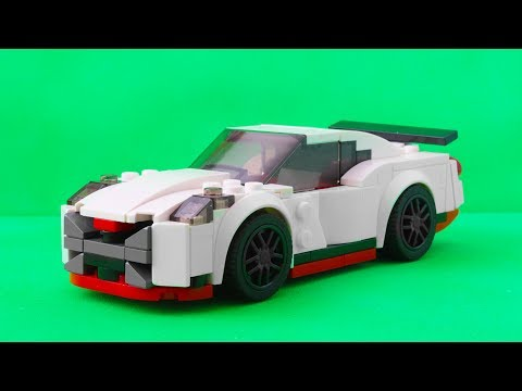 Lego Nissan Gtr Mini Lego Instruction Speed Build Review Cars For