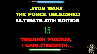 Star Wars : The Force Unleashed | 15 - Pummeling the walker with the local fauna!