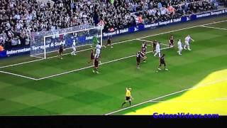 Manchester City 1-3 Tottenham All Goals Full Match Highlights 21/04/2013