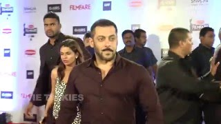Salman Khan At 61st FilmFare Awards 2016 Red Carpet