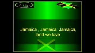 The Jamaica National Anthem instrumental with lyrics