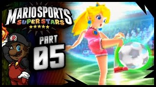 "Mario Sports Superstars - Soccer/Football Gameplay | ""POM POM, DEFEND THE GOAL!!!"""