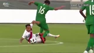 ملخص السعودية والبيرو 0-3 تعليق فهد العتيبي - استعدادات كأس العالم 3-6-2018 HD