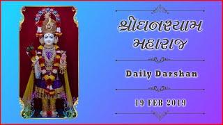 Ghanshyam Maharaj | Daily Darshan | 19 Feb 2019 | Karelibaug, Vadodara