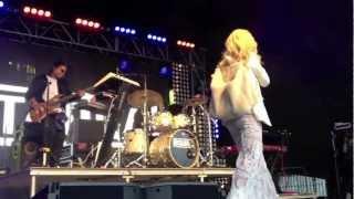 Rita Ora at Lovebox 2012
