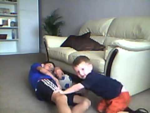Baby wrestiling 12 year old