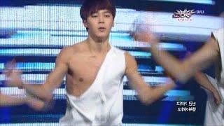 BTS Rap Monster and Jimin ripping their shirts, wardrobe malfunction