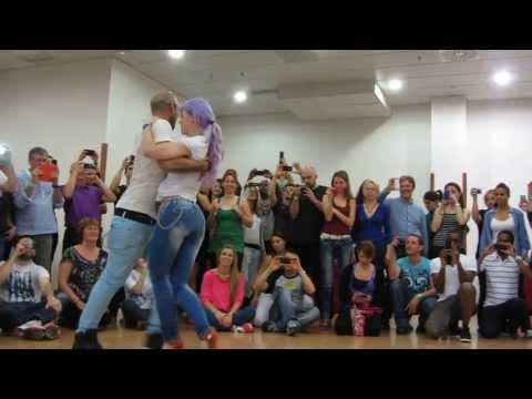 ALBIR AND SARA semba workshop,