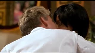 Gordon Ramsay Making Out With Contestant On Hells Kitchen - Full Video HD
