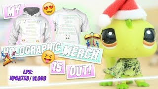 LPS: MY NEW MERCH IS OUT! HOLOGRAPHIC